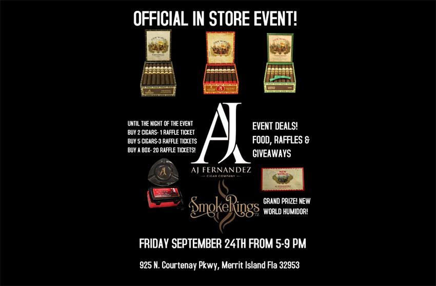 AJ Fernandez cigar event