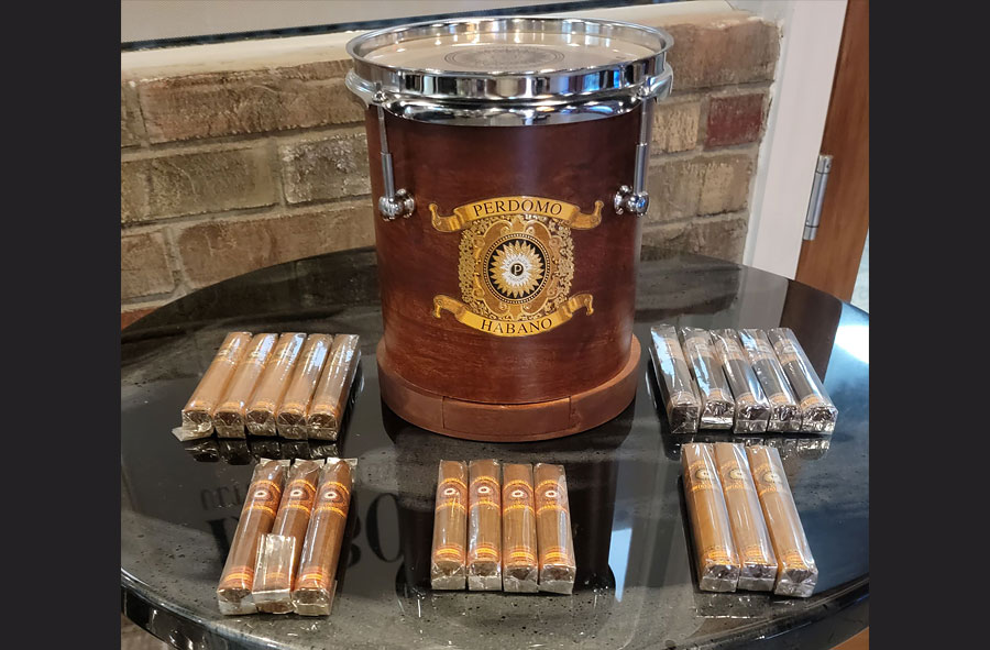 Enter to Win a Perdomo Habano Drum Humidor With 20 Cigars