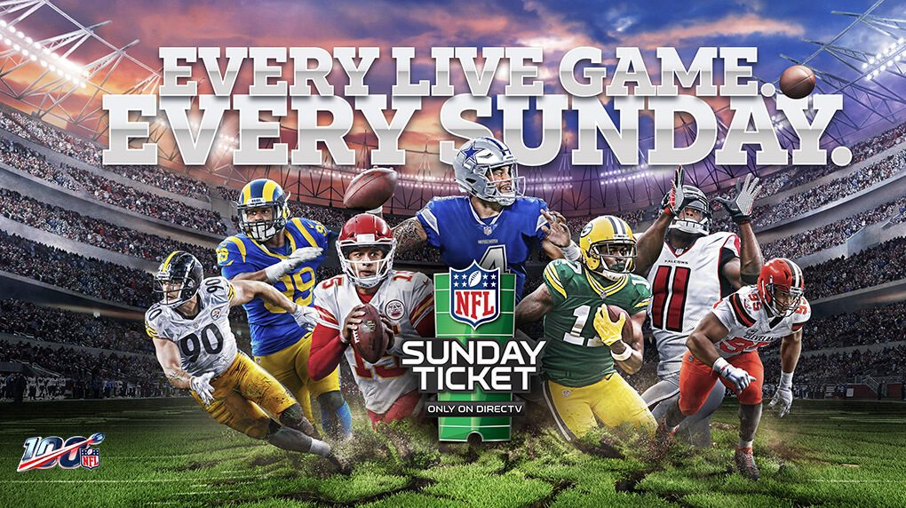 We Have the NFL Sunday Ticket!