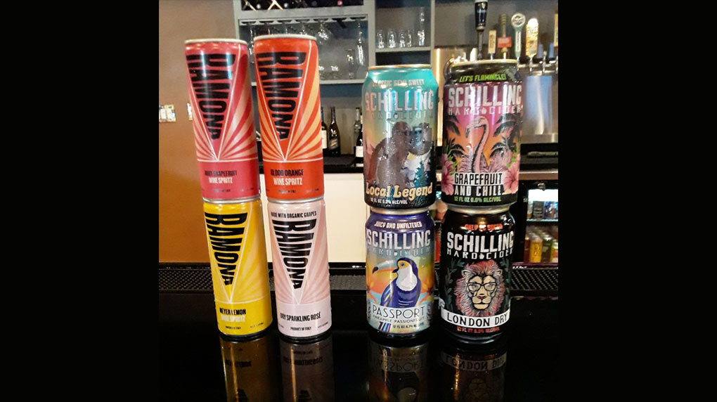 Come in and Try the New Ramona Wine Spritzers and Hard Ciders.